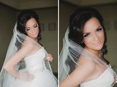bride hair, makeup