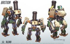 Overwatch Bastion - Google Search