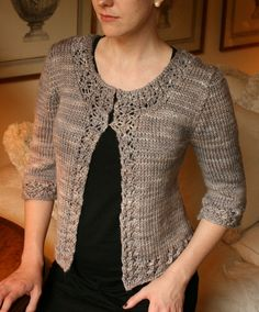 wishing i could knit!  Asteria Cardigan by the yarniad, via Flickr