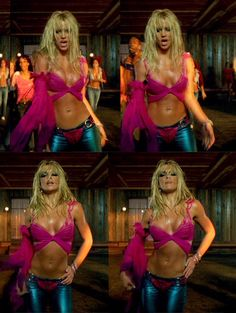 I'm a slave for you Britney Spears music video She was tiny and oh so gorgeous...she still is :)