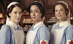 The Crimson Field The BBC series developed as part of WW1 centennary. It follows nurses,volunteers & injured soldiers in a field hospital.
