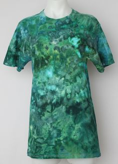 $36 - Tie dyed Men's short sleeve tee shirt - size Small - Mermaid's Tale Find this item on https://a-spoonful-of-colors.myshopify.com/