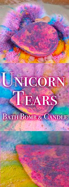 Each Unicorn Tears bath bomb and candle comes with a beautiful ring inside inspired by the unicorn horn!