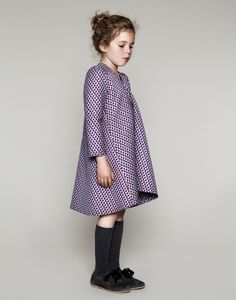 Girl's purple dress - Senorita Lemoniez