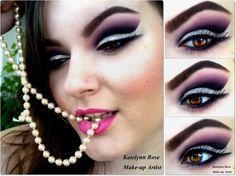 Purple Glam http://www.makeupbee.com/look_Purple-Glam_50100