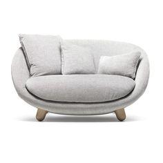 Moooi Love Sofa (4,575,205 KRW) ❤ liked on Polyvore featuring home, furniture, sofas, decor, sofa, grey, moooi sofa, gray sofa, grey furniture and grey couch