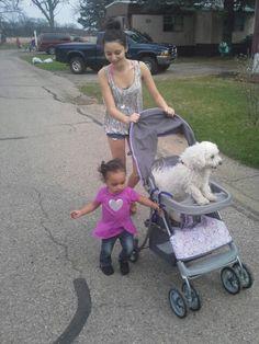 Ok girls... take me for my walk ....