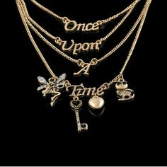 Once upon a time fairytale tiered necklace As pictured . Brand new . Bundle and save Jewelry Necklaces Selling Jewelry, Jewelry Stores, Jewelery, Jewelry Necklaces, Long Necklaces, Fandom Jewelry, Once Up A Time, Multi Layer Necklace, Layered Necklace