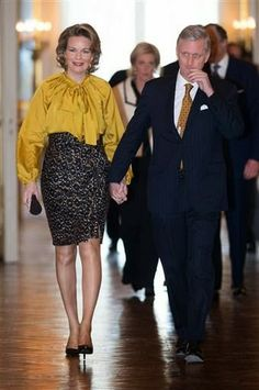 MYROYALS &HOLLYWOOD FASHİON: King Philippe and Queen Mathilde hosted a New Year's Reception at the Royal Palace in Brussels, January 29, 2014