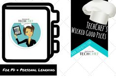 20+ Wicked Good Picks or PD and Personal Learning:  https://www.pinterest.com/techchef4u/techchefs-wicked-good-picks-for-pd-personal-learni/