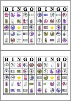 Math Bingo, Math Games, Math Activities, Fraction Activities, School Resources, Math Resources, Fraction Games, Third Grade Math, Math Fractions