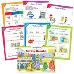 Safety Counts! Ebook & Worksheets – Creative Teaching Press Improve Reading Comprehension, Reading Strategies, Sight Word Sentences, Vocabulary Words, Learn To Read Books, Nouns And Pronouns, Creative Teaching Press, Spelling Patterns, Math Work