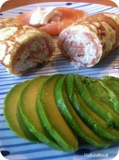 Wrap med laks og avokado
