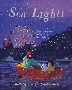 Sea Lights by Ruth Symons & Carolina Rabei Illustrations, Children's Book Illustration, Southern Living Christmas, Feeling Sleepy, Paper Engineering, Character Home, Fishing Villages, Black Sea, Kids Boxing