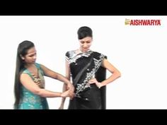 How to drape a saree in a Bengali Style