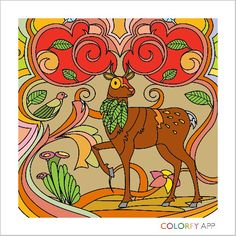 My deer by Colorfy!