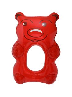 Giant Red Gummy Bear Pool Float | Hot Topic