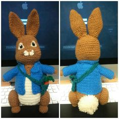 Amigurumi Peter Rabbit : Peter rabbit, Rabbit and Peter otoole on Pinterest