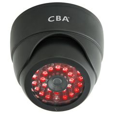 Fake security cameras deter potential home intruders without costing you much money, and they look real, especially with working LEDs. The dummy cam shown here costs less than $15. Check out the entire collection: http://www.homecontrols.com/Fake-Security-Camera