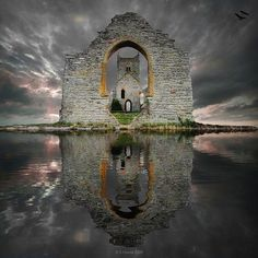 Castle Ruins Lord Ard, Scotland / I swear this is the image in Zelda: Ocarina of Time.