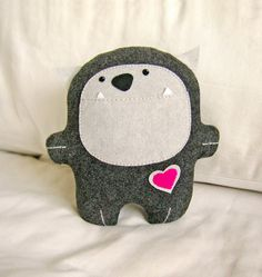 plush - @Amy Lyons Lyons Lyons Gilson This looks like something you would make! So cute!