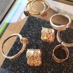 Cyclical Industry Lace Ring | Sterling Silver, Rose Gold, Gold | Brooklyn, NYC | cyclicalind.com