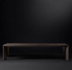 Arles Rectangular Dining Table | RH Modern
