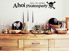 *Starlights in the Kitchen*: [KIDS] Piratenparty - der erste Geburtstag