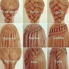 Braids, braids, braids....
