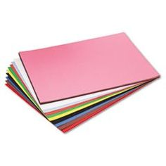 Construction Paper Heavyweight, groundwood, all-purpose classroom art paper with soft eggshell finish.. Acid-free for archival quality..  #Riverside #OfficeProduct