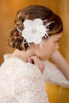LoBoheme Posy head piece from Etsy $120.   My sister-in law made one for her wedding for $20 tops!  Looked exactly the same