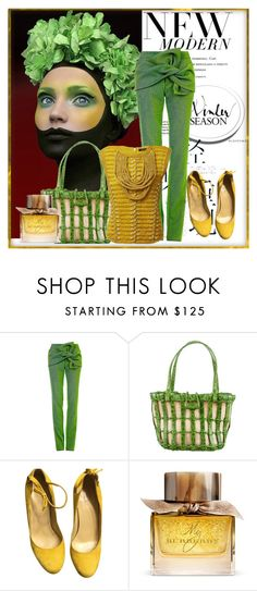 """""""Untitled #2780"""" by sugarsugar ❤ liked on Polyvore featuring Maticevski, Nancy Gonzalez, Burberry and Balmain"""