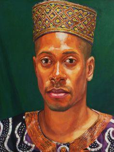 Nigerian man by Oscar Estevez Nigerian Men, Portrait, Tattoos, Artist, Tatuajes, Headshot Photography, Tattoo, Artists, Portrait Paintings