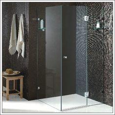 Customised Frameless Square Corner Shower Screen (LB04-C)