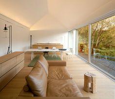 Living room - black-on-white-studio-house