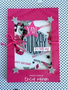 The Speckled Sparrow: CTC81 Confetti Celebration Birthday Cards