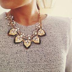 Jewel layering - Style // Fashion // Beautiful People