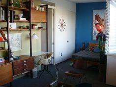 Mid-century modern interior in San Diego