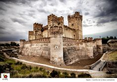 Castillo de la Mota, Valladolid, Spain