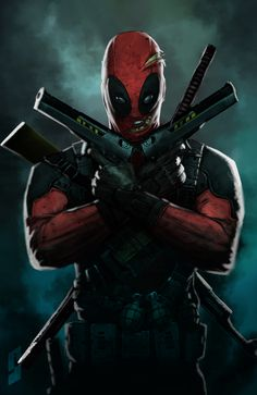 deadpool by ~saadirfan