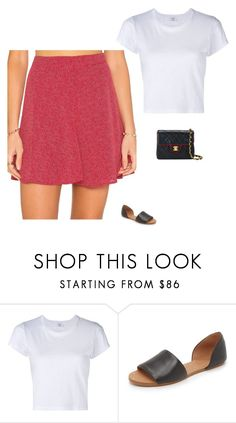 """Untitled #1809"" by tayloremily218 on Polyvore featuring RE/DONE, Madewell and Chanel"