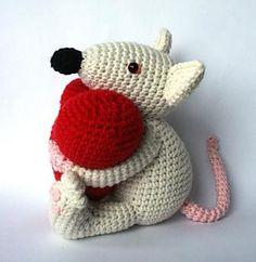 mouse Valentijn - $5.59 by Christel Krukkert