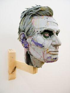 scott fife - cardboard sculpture