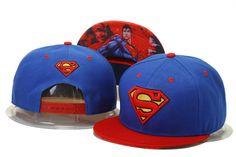 Cheap Wholesale Superman Snapback Hero Hats Blue/Red 343 for slae at US$8.90 #snapbackhats #snapbacks #hiphop #popular #hiphocap #sportscaps #fashioncaps #baseballcap