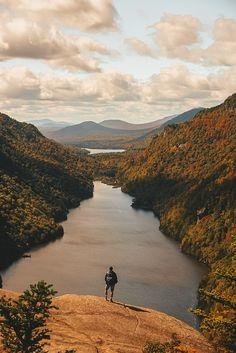 Hiking Indian Head, Adirondacks