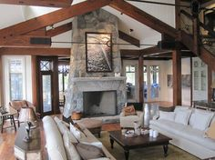 Muskoka+cottage Design Ideas, Pictures, Remodel, and Decor