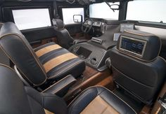 h1 hummer interior - Google Search