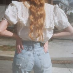 Imagem de girl, hair, and vintage Angel Aesthetic, Aesthetic Vintage, Looks Style, My Style, Style Retro, Lolita, Look Cool, Cute Outfits, Girly