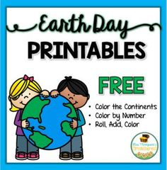 Enjoy these three free activities from my Earth Day Activities Pack. ✅ Color By Number ✅ Roll, Add, Color  ✅ Color