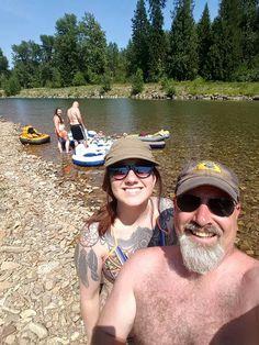Floating the Coeur d'Alene river! Indigo Ransom